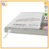 Подгонянное печатание кассеты брошюры книги мягкой крышки