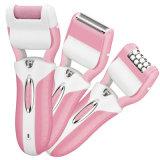 3 в 1 перезаряжаемые удалении Epilator волос повелительницы Шевера Каллюса Перевозчика Электрическ Epilator электрическом для внимательности ноги женщин самой лучшей