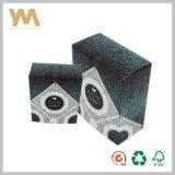 Rectángulo de empaquetado impreso del regalo de papel de encargo del perfume