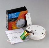 Blanco sin hilos del sistema del sensor la alarma de incendio de la seguridad casera del detector de humos (SFL-168)