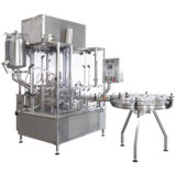 Máquina de rellenar líquida linear y maquinaria de etiquetado