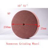 """10の"""" X1 """" 9pの磨く車輪のNonwoven車輪の表面の調節の車輪"""