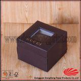 L'argento su ordinazione ha sventato il contenitore di lusso di anello della parte superiore di vibrazione di marchio