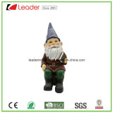 Statua di Gnome di Polyresin per gli ornamenti domestici del giardino e della decorazione