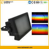 Для использования вне помещений 40Вт Светодиодные эффекта радуги LED PAR освещение для архитектуры