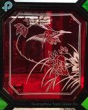 Het gekleurde Glas van het Blad van Vensters/het Glas van het Venster van Mantsjoerije (s-mw)