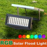 Ce extérieur solaire à extrémité élevé RoHS 5W d'éclairage LED de lumière de jardin