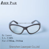 Haut de lunettes de protection de la mode de couleur la transmittance de 80 % er Lunettes de sécurité laser pour 2700-3000nm