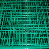 Engranzamento de fio soldado revestido PVC na venda