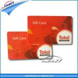 Cartão de chave sem contato PVC / etiqueta RFID / cartão IC sem contato