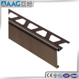 Garniture en aluminium de tuile de chrome de qualité