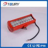 Double rangée 54W barre lumineuse à LED pour éclairage de la conduite de voiture du chariot