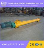 Transportador de tornillo del espiral del acero inoxidable para la fibra de planta