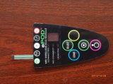 Recouvrement de clavier numérique de touche à effleurement et panneau plats faits sur commande d'écran tactile