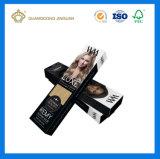Cadre de empaquetage d'impression de prolonge colorée faite sur commande de cheveu (caisse d'emballage bon marché de perruque)