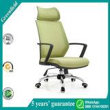 خضراء مريحة حديثة إرتفاع ظهر تنفيذيّ مرود خابور شبكة مكتب كرسي تثبيت مع مسند رأس
