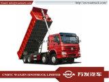 Heet-verkoop! ! Het uitstekende Voor Opheffen LHD 8*4 12 Banden Cnhtc Sinotruk HOWO van de Voorwaarde gebruikte Dumpende Vrachtwagens met Lage Prijs voor Afrikaanse Ruwe Weg