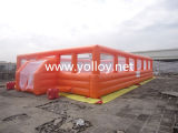Orange Sports Football Football gonflable emplacements
