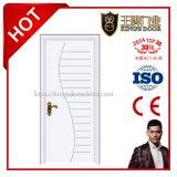 Portes intérieures en MDF stratifié en placage en PVC