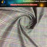 Удваивая ткань пряжи полиэфира покрашенная, серый цвет вереска полиэфира