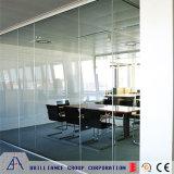 Parede de divisória de vidro de alumínio do escritório moderno