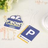 protección del medio ambiente fresco limpio Ambientador automático de papel cuelgue la etiqueta de colgar la etiqueta de papel