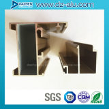 Perfil de la puerta de la ventana de aluminio de la muestra libre para el mercado de Libia Liberia