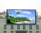 Visualización de LED al aire libre a todo color P10 de la visualización de LED, cartelera que hace publicidad de la visualización de LED