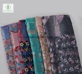 Gedruckte Schal-Fabrik der Form-Dame-Voile Scarves Multicolor Cotton Blume