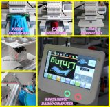 Große Geschwindigkeit 1 multi Hauptshirt-flache Stickerei-Maschine der Funktions-Stickerei-Schutzkappen-Maschine/3D