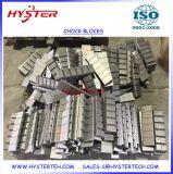 Blocs d'usure Bimetalic Chocky pour benne Maintenace
