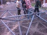 Grade de aço do espaço útil para a fábrica e o jardim do quadrado