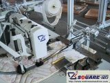 Máquina colchón de la puntada de la máquina de coser de la cremallera colchón