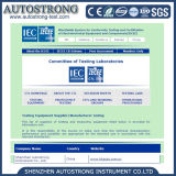 Simulação de IEC60335-1 Ipx1/2 da máquina do teste da chuva