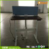 현대 새로운 디자인 단 하나 사람 전기 조정가능한 책상