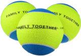 2.5 pouces Jouets pour animaux de compagnie et équipement d'exercice Balle de tennis pour chien