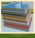 Placa de MDF de papel de melamina diferente para uso de móveis com preço barato