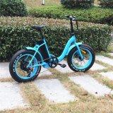 2017 20 '' [إبيك] يطوي [48ف] [500و] إطار العجلة سمين درّاجة كهربائيّة