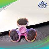 Цветастый обтекатель втулки игрушки перста руки подшипника колеса света 3 СИД