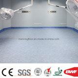 Light Blue Sound Absorver PVC Sport Floor Piso de plástico de vinil para hospitais Escola de saúde Boya