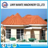Telha de telhado de aço de alumínio revestida da pedra do material de construção de Nigéria