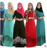Chemise de robe d'Evenning d'usager longue pour la femme arabe musulmane