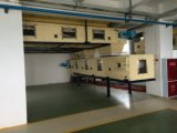 Transporte de correia da linha de produção detergente equipamento do pó