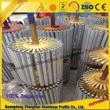 Profils anodisés d'aluminium de fini de traitement extérieur