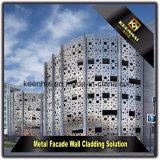Moderne feuille en aluminium fabriqué des panneaux de façade perforée pour revêtement mural