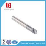 Carbide 2 Boren van de Fluit van de Fluit de Lage Spiraalvormige Niet bekleed voor Aluminium
