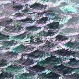 Azulejo de mosaico azul del shell de Paua del shell del olmo