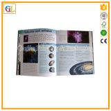 Impression sur offset de livre de couverture personnalisée avec lien parfait