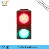 Custom 100mm PC Cobweb Lens Housing Mini LED Traffic Light