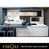 贅沢な現代白い食器棚のよい価格Tivo-0109hの白い台所デザイン
